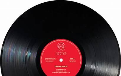 Record Vinyl Vinyle Blank Transparent Disque Labels
