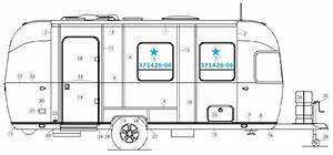 Airstream 8 U0026quot  Vented Silver Frame Window For Curbside For