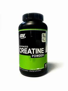 Optimum Micronized Creatine Powder 300 Grams Unflavored 60 Servings Build Muscle 748927023848