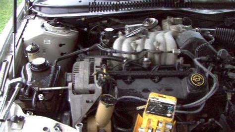 how to change waterpump 1989 mercury sable how to change your alternator in your taurus or sable youtube
