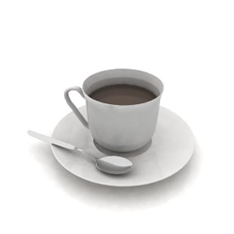 """""""Coffee service""""   Interior collection 3D Models   Cup"""