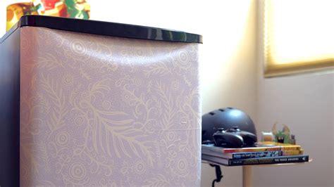 Decorate Your Dorm Room Mini Fridge With Stick-on