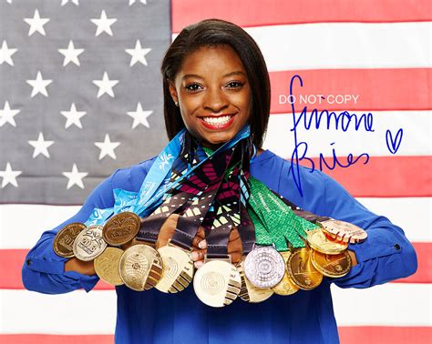 simone biles legendary rio olympic  gymnast reprint