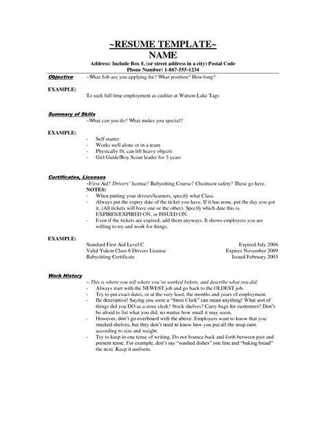 nanny description resume exle resume ideas