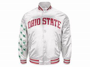 g3 sports ncaa men39s starter jacket apparel at With kitchen colors with white cabinets with what are the stickers on ohio state s helmets
