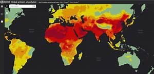 Carte Pollution Air : carte interactive l 39 oms mod lise la pollution mondiale aux particules fines ~ Medecine-chirurgie-esthetiques.com Avis de Voitures