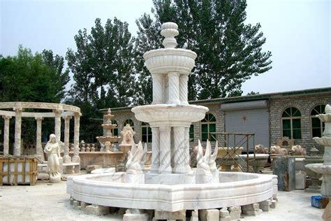 garden stone swan marble water fountain price  fine sculpture