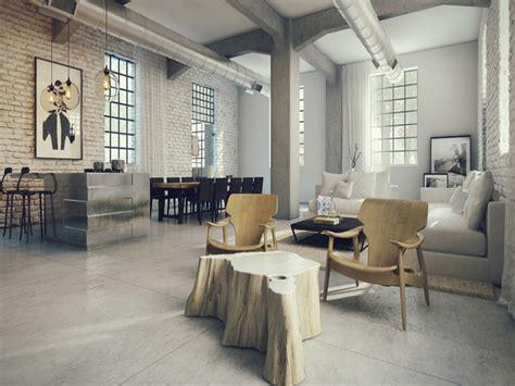 industrial loft design ideas loft style basement
