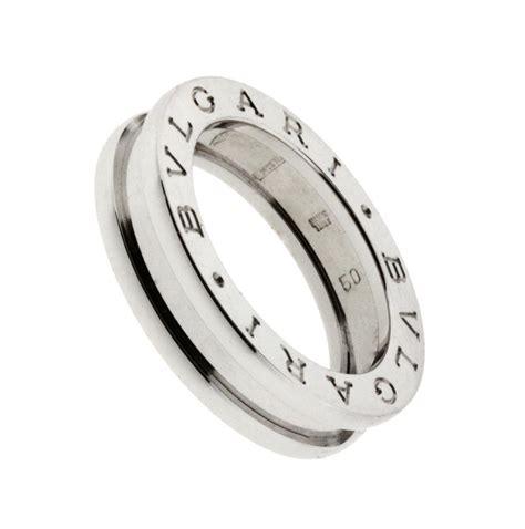 bvlgari 18k white gold bzero1 ring 3 band jewelry 18k white bvlgari bvlgari bzero1 band ring in 18k white gold ref