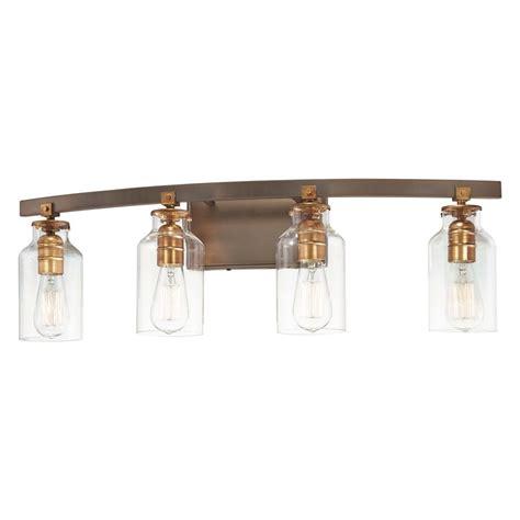 Bathroom Light Bulb by Edison Bulb Bathroom Light Bronze W Gold Highlights 30 25