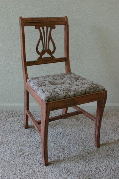Painted Harp Back Chairs by Antique Harp Back Chair Before And After