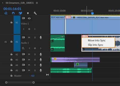 edit audio   premiere pro timeline