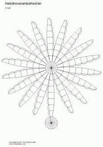 net pentagonal pentagrammic shape crafts pinterest With sphere net template