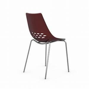 Chaise Design Blanche : chaise design jam blanche brillante et rouge transparent de calligaris achat vente chaise ~ Teatrodelosmanantiales.com Idées de Décoration