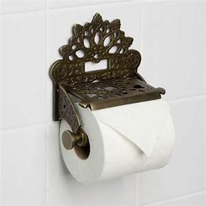 Dering, Solid, Brass, Toilet, Paper, Holder