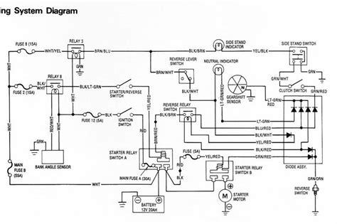 Honda Gl 1500 Wiring Diagram by Help Gl1500 Not Working Page 3 Steve