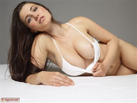 Alone Girl Showing Her Perfect Round Boobs