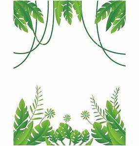 Jungle Leaves Background Clipart (28+)