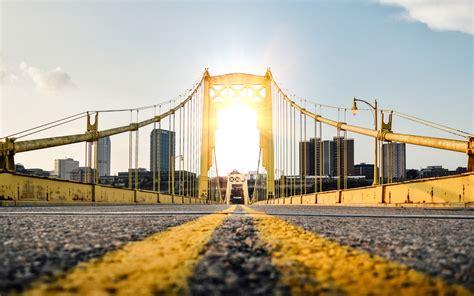 architecture road gold bridge sunlight  ultra hd preview wallpapercom