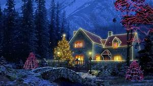 1920x1080 Winter, Vacation Home, Christmas Cottage ...