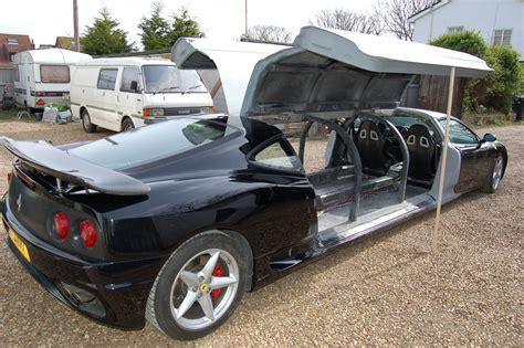 Lax Limousine by Limousine Cars Quot F360 Quot Limo Supercars
