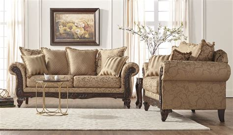 loveseat and ottoman momentum khaki sofa and loveseat my furniture place