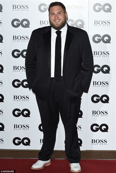 jonah hill shows  bigger build   scoops gq award