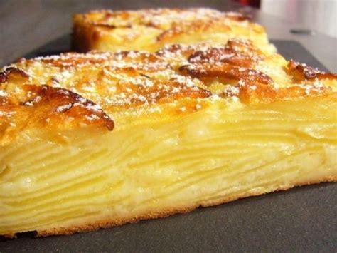g 226 teau invisible aux pommes recette par r 234 ves de p 226 tissi 232 re