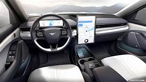2021 Ford Mustang Mach-E Electric SUV - Interior, Cockpit   HD Wallpaper #35