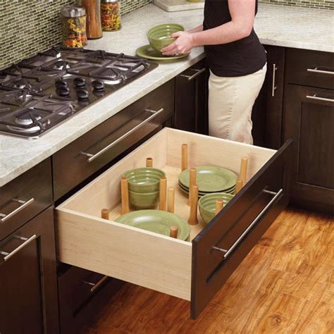 drawer organizer kitchen drawer peg organizer  rev