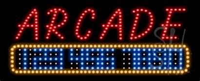 Led Sign Animated Arcade Signs Bonds Bail