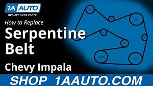 How To Replace Serpentine Belt 06