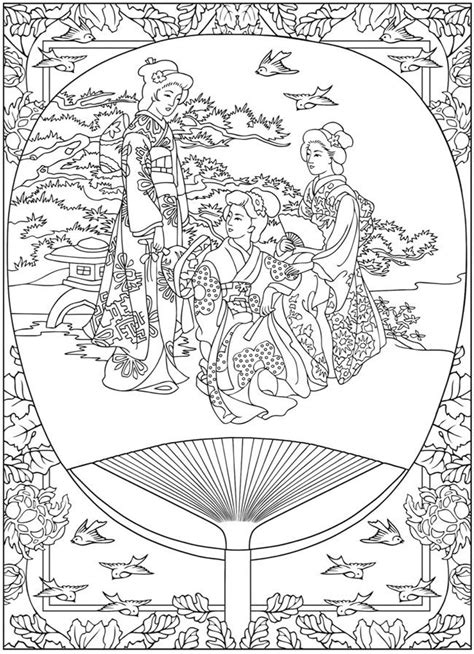 life  japan tradition japan adult coloring pages