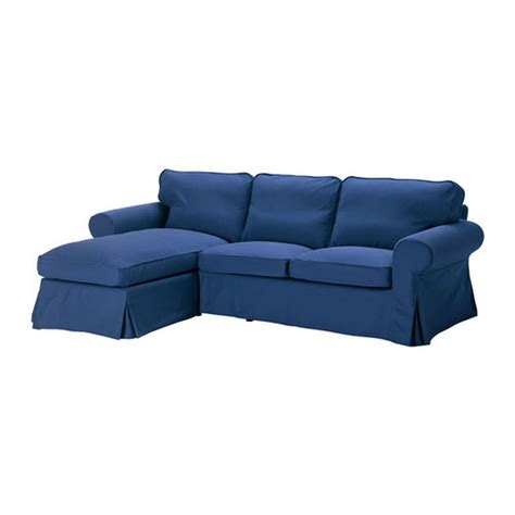 ikea ektorp chaise lounge ikea ektorp loveseat with chaise lounge cover slipcover idemo blue