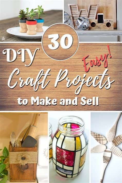 easy diy craft projects      sell