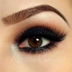 Black Smokey Eye #eye #makeup #eyeshadow #dark #black # ...