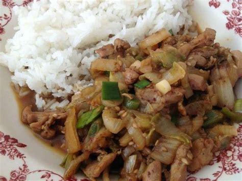 cuisine au wok poulet les meilleures recettes de wok et poulet