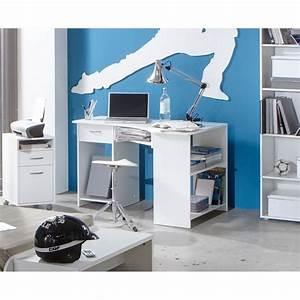 Bureau D Angle Enfant : felix bureau d 39 angle coloris blanc aucune pickture ~ Teatrodelosmanantiales.com Idées de Décoration