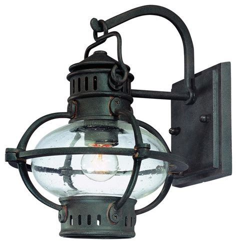 troy csl lighting b1871bb portsmouth 1 light outdoor wall