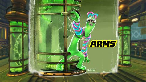 gooey blob helix revealed  newest arms character