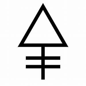 Phosphorus - Alchemy Symbol