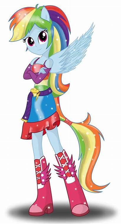 Dash Rainbow Deviantart Equestria Pony Deannaphantom13 Rocks