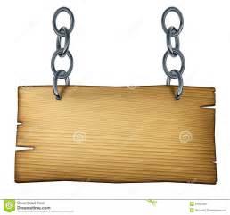 Hanging Wooden Sign Clip Art