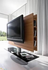 Fernseher An Der Wand : fernseher an der wand im schlafzimmer ~ Frokenaadalensverden.com Haus und Dekorationen