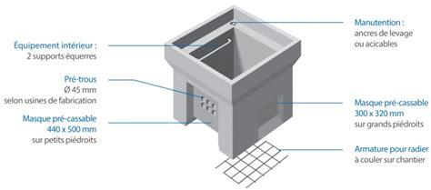 chambre de tirage l2t corps chambre de tirage k1c sans fond nf lamberton