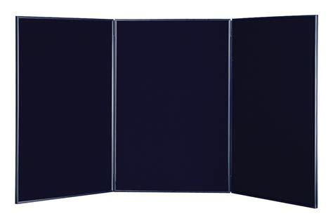 black tabletop display board hook loop receptive black