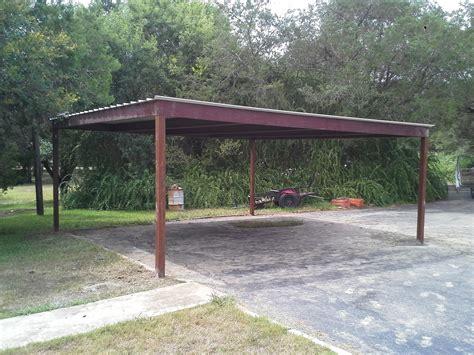 standing  metal carport karnes county texas
