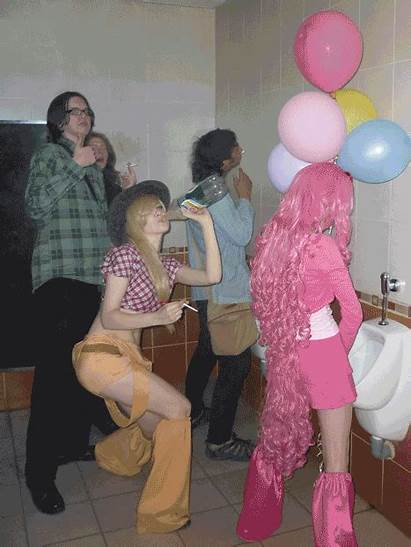 Belly Button Russian Urinal Artist Cosplay Cigarette