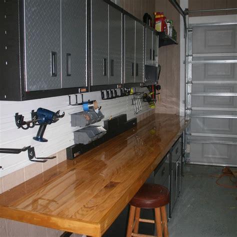 custom garage workbench ryobi nation projects