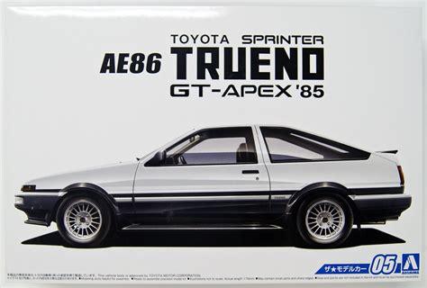 Aoshima 51566 The Model Car 05 TOYOTA AE86 SPRINTER TRUENO